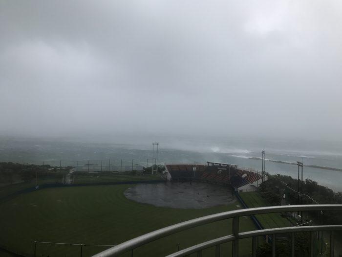 海の側の高層階!風がスゴかったぜー!逆になかなか味わえないよねこんな経験!