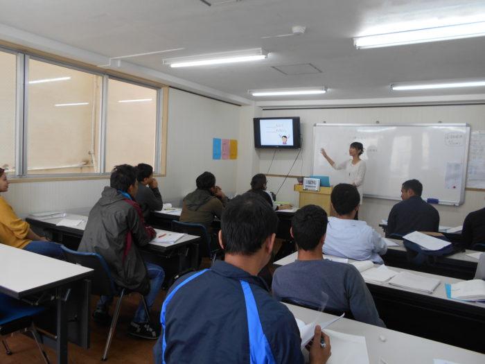 日本語を学ぶ学生さんたち