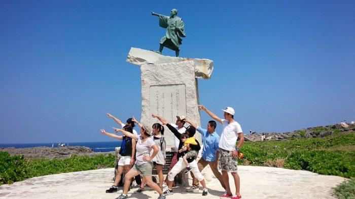 外国人に沖縄観光に連れて行ってもらうというのも面白いよね(^^)