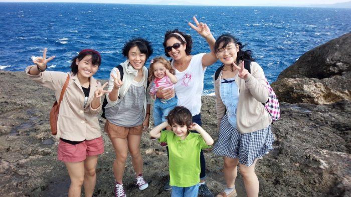 外国人ファミリーと沖縄を満喫!