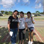 今度は女生徒の県内短期アメリカン体験プログラム!